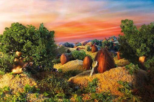 съедобные пейзажи