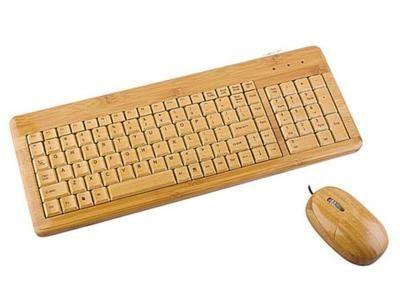 Клавиатура из бамбука
