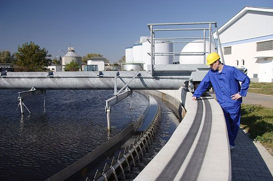 Получение энергии от сточных вод