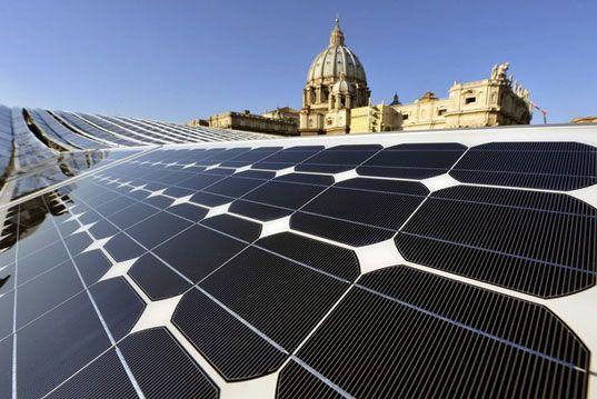 Ватикан - самое зеленое государство мира