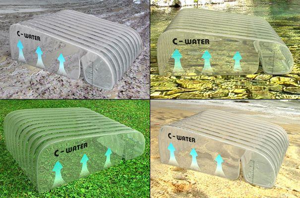 Солнечный очиститель воды