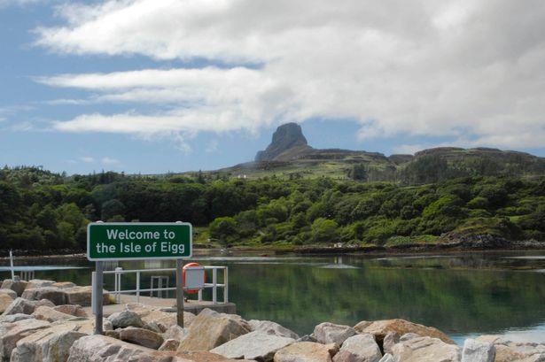 Остров Эгг - самый зеленый остров на планете