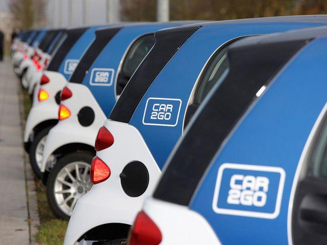 Программа совместного использования и проката автомобилей Car2go