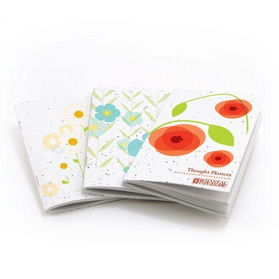 Бумага, прорастающая цветами
