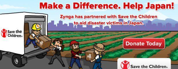 Социальные онлайн-игры собирают деньги для японских детей