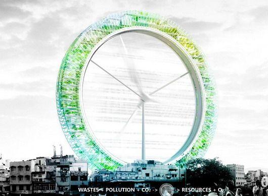 Небоскреб-турбина
