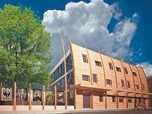 Будущий эко-офис WWF в Москве