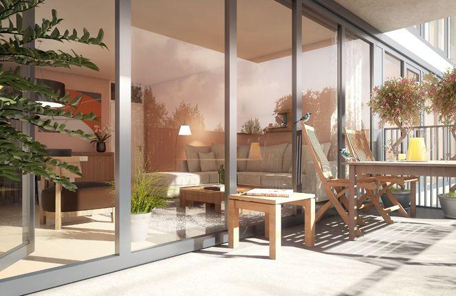 Балкон квартиры в Easy Street