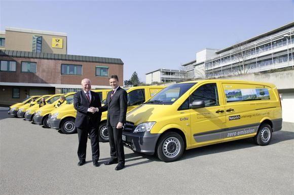 Служащим немецкой почты также пришлись по вкусу эксплуатационные характеристики этого грузового электромобиля