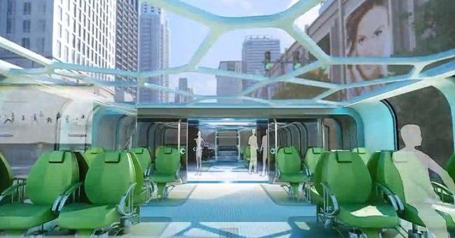 Land Airbus – концептуально новый тип эко-транспорта