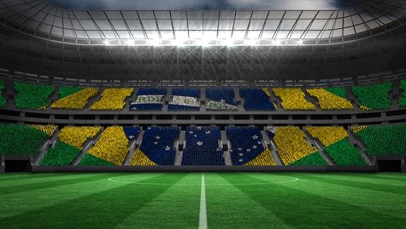 Покрытие для бразильской спортивной арены одновременно и натуральное, и искусственное