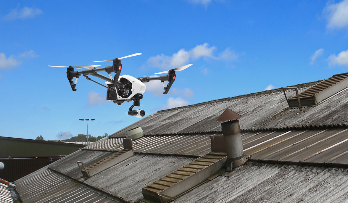drone-roof