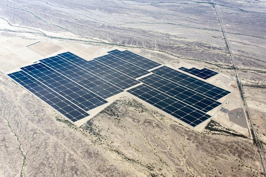 Agua Caliente крупнейшая солнечная электростанция в пустыне