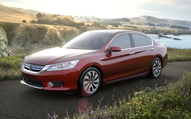 10 лидеров американского рынка зелёных автомобилей 2014 Honda-Accord-hybrid-sedan