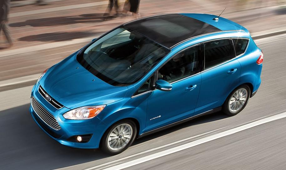 10 лидеров американского рынка зелёных автомобилей Ford C-max hybrid