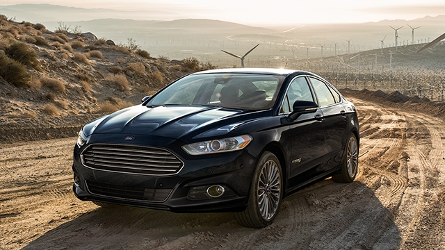 10 лидеров американского рынка зелёных автомобилей Fusion-hybrid