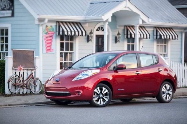10 лидеров американского рынка зелёных автомобилей Nissan Leaf