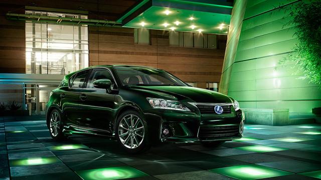 10 лидеров американского рынка зелёных автомобилей Lexus CT 2013