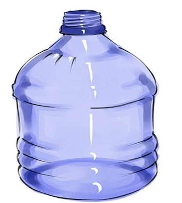 Используйте пластиковую бутылку подходящего объёма.