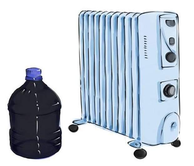 Зимой поставьте бутылку возле радиатора отопления.