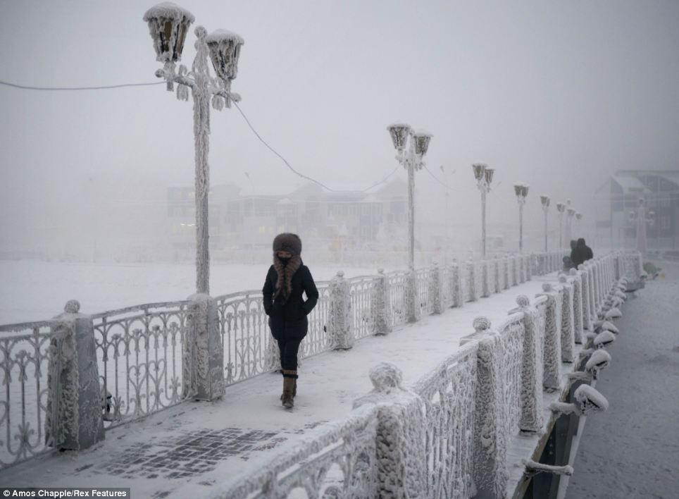 8 самых холодных городов в мире
