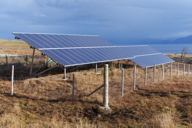 Крошечный остров Шотландии полностью обеспечивает себя энергией