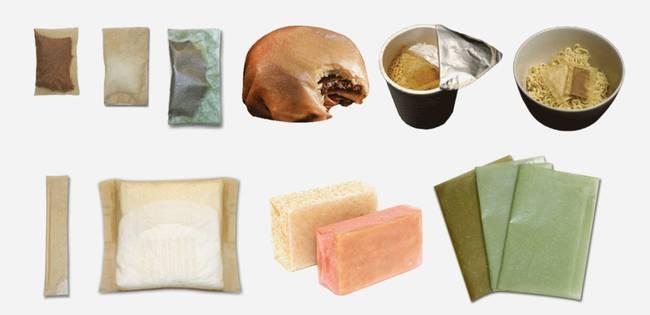 Съедобная и биоразлагаемая упаковка из морских водорослей