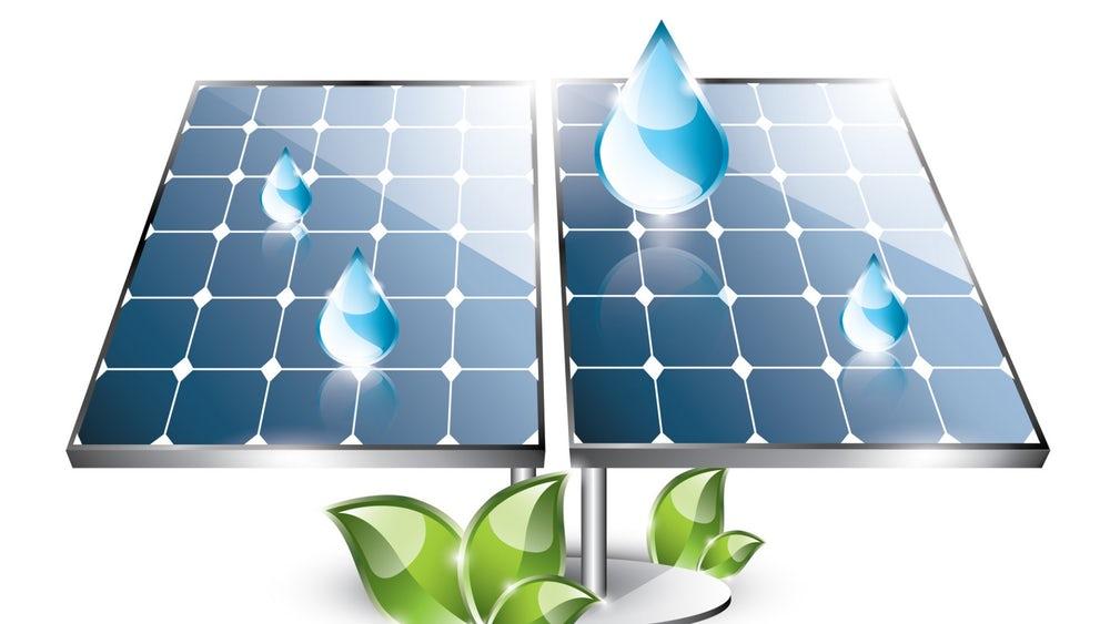 Новая гибридная солнечная панель производит энергию с помощью солнца и капель дождя