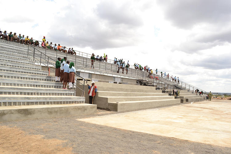 Новый школьный кампус в Кении может хранить 1,5 миллиона литров воды