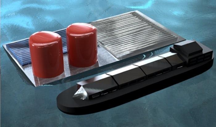 Водородное топливо из морской воды
