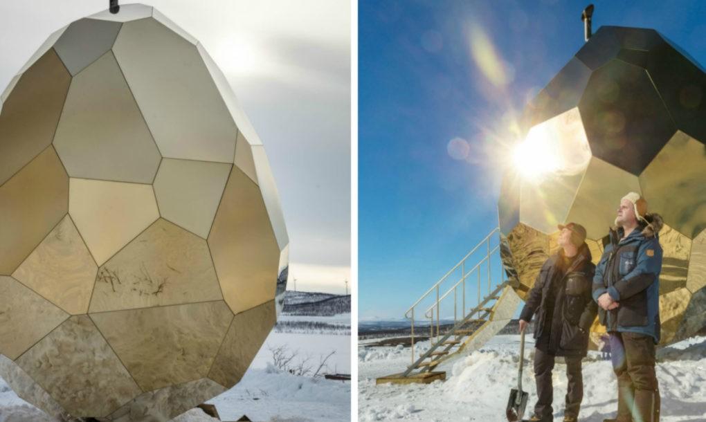 Cауна на солнечной энергии