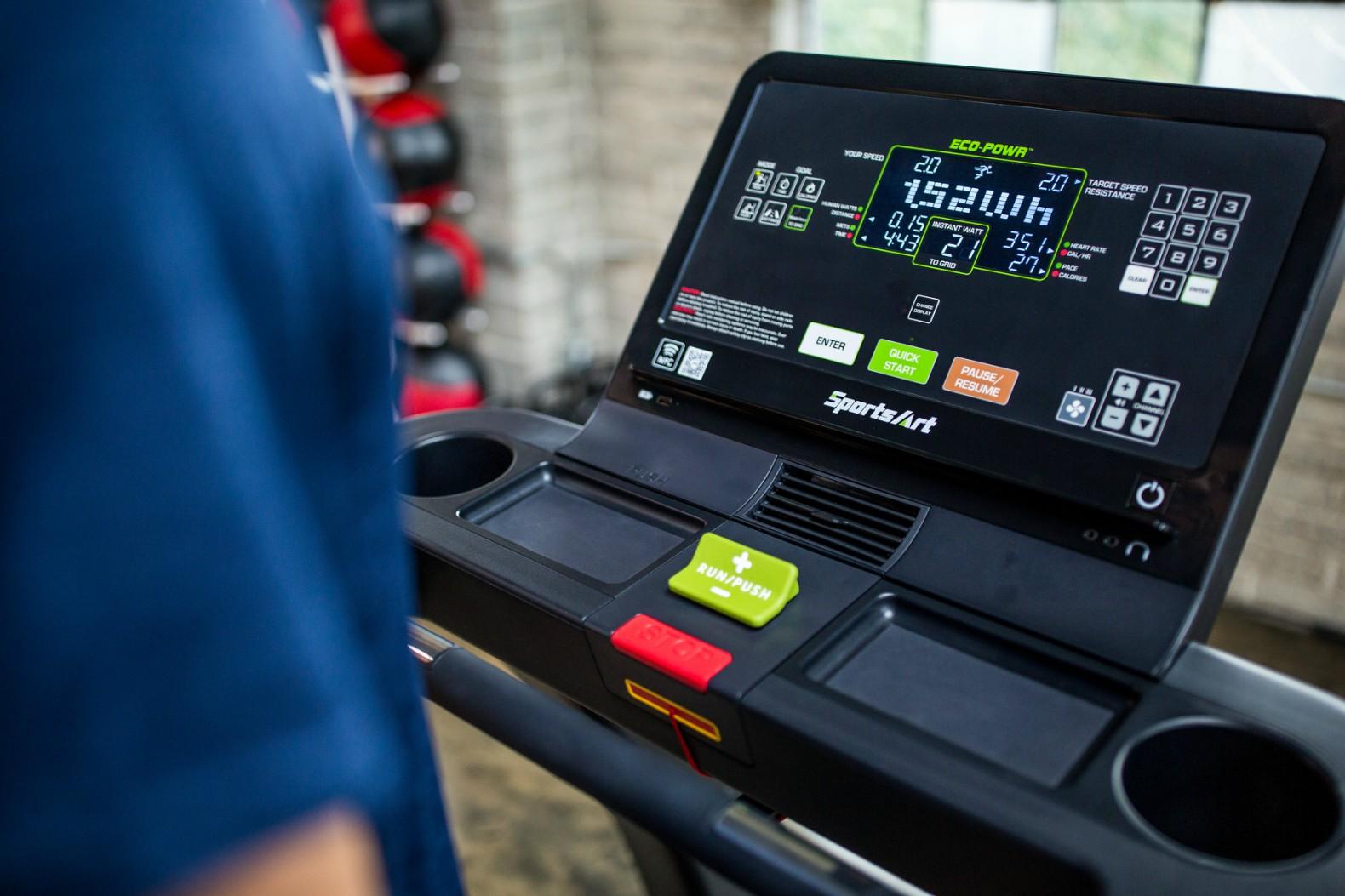 Тренажерный зал получает энергию от тренировок