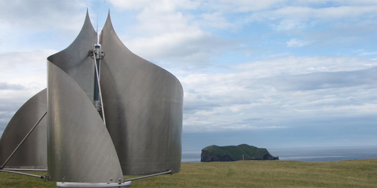Инновационная ветровая турбина для сильных штормов Исландии. Facepla.net последние новости экологии