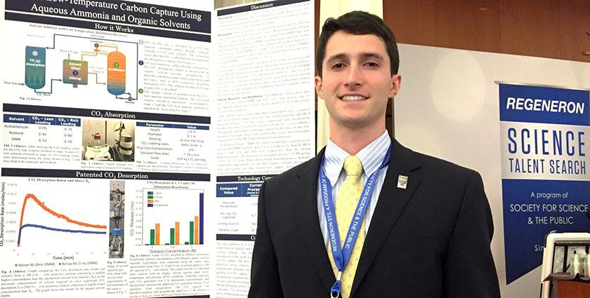 18-летний парень разработал дешевую технологию улавливания CO2