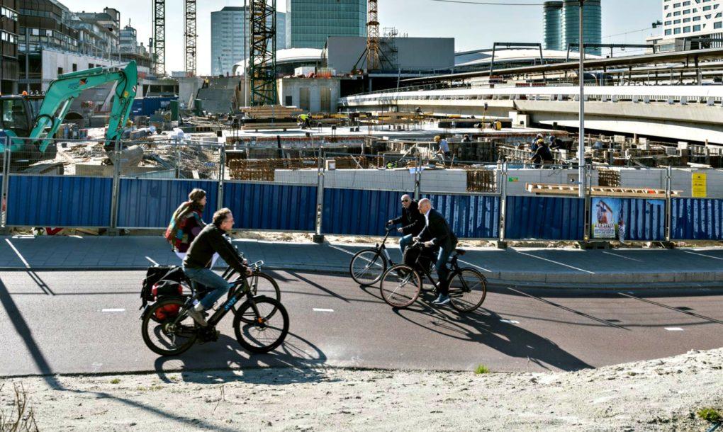 В Нидерландах открывается крупнейшая в мире парковка для велосипедов
