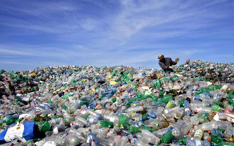 Обычные пластиковые отходы в топливо