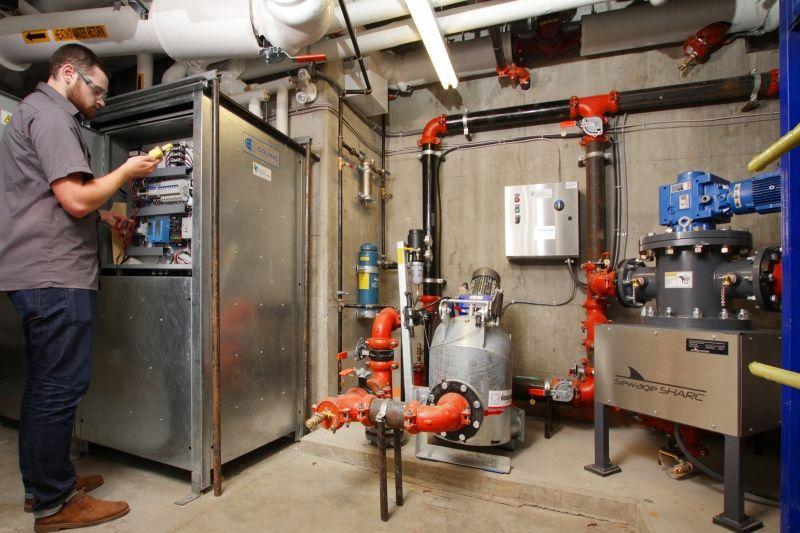 Отопление с помощью сточных вод