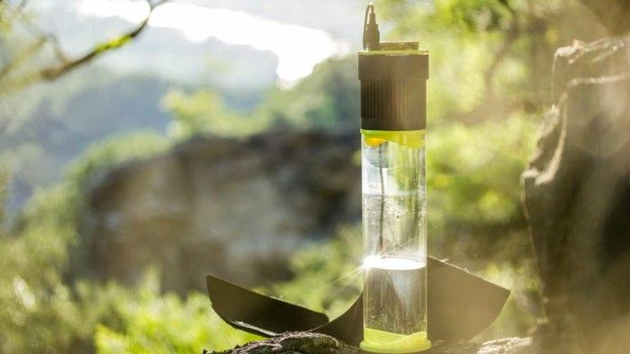 Самозаполняющаяся водой бутылка. Facepla.net последние новости экологии