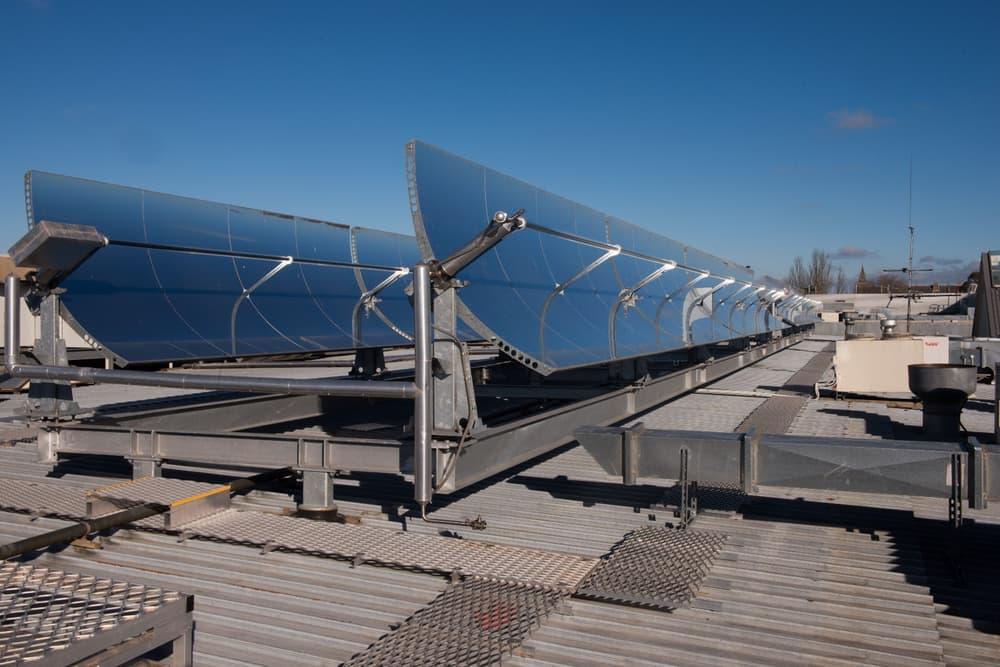 Кондиционер на солнечной энергии охлаждает торговый центр. Facepla.net последние новости єкологии