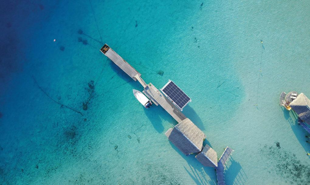 Солнечная электрическая яхта в Новой Зеландии