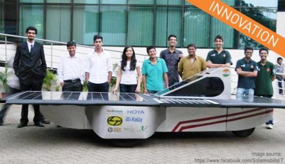 Солнечный автомобиль для международного соревнования представлен индийскими студентами.Facepla.net последние новости экологии