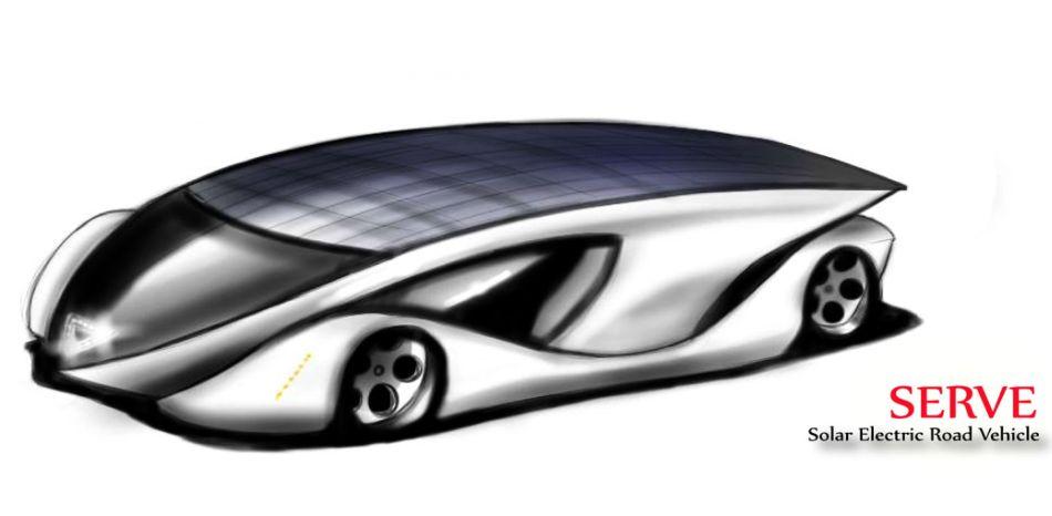 Солнечный автомобиль для международного соревнования представлен индийскими студентами