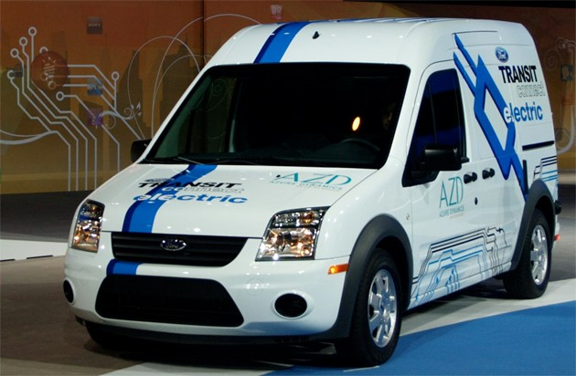 Ford Transit Connect EV