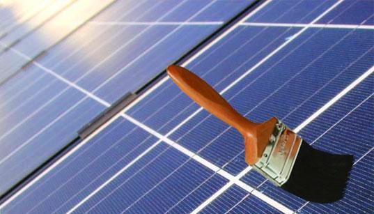 Солнечная краска - будущее солнечной энергетики?