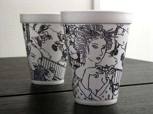 Кофейный эко-арт