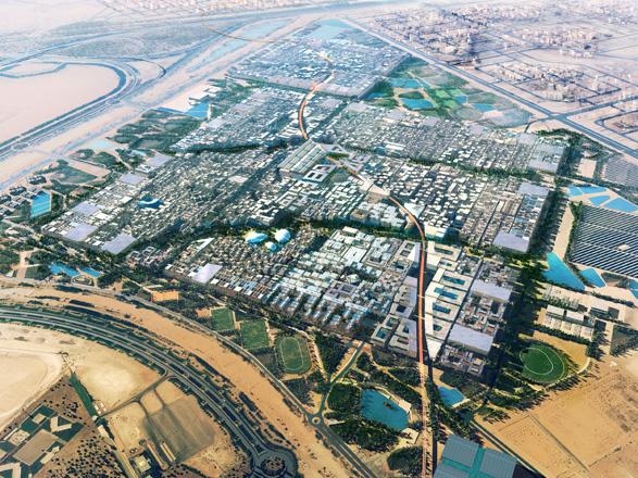 Масдар-сити: путеводная звезда в пустыне, взгляд в будущее