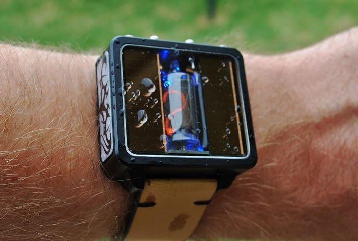 Как сделать наручные электронные часы своими руками