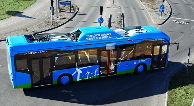 Гибридные автобусы Volvo