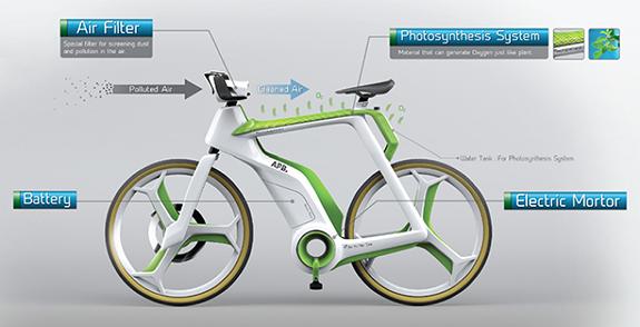 воздухоочистительный велосипед