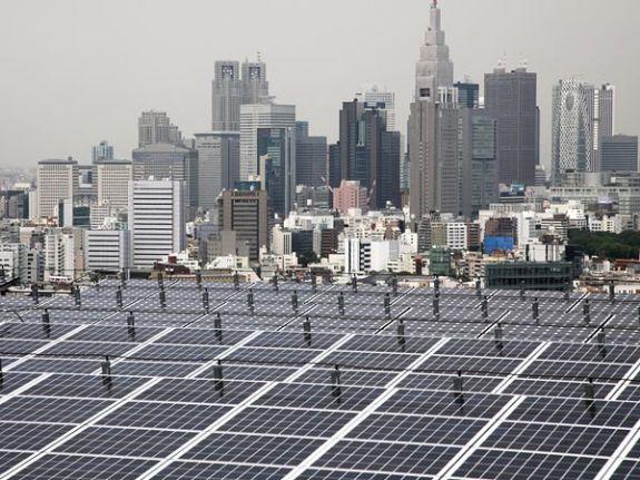 Фотоэлектрические панели Японии производят до10ГВт
